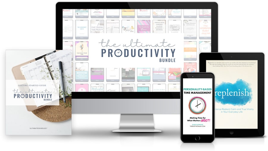 Secret Want to know the secret to becoming more productive with your time? The answer is here. Find out now! being Ultimate Productivity Bundle